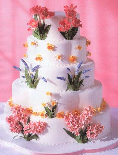 Свадебные торты на заказ торты на