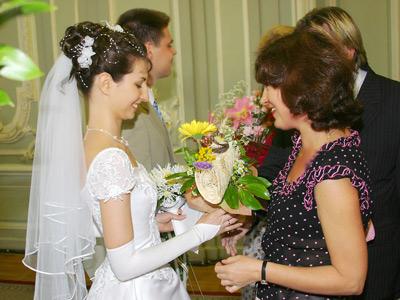 Поздравление в загсе от родителей невесты
